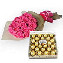 My Fondest Affection: Flowers & Chocolates for Wife