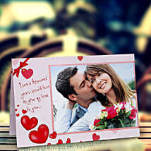 My Love Personalized Card: Send Personalised Gifts to Gandhidham