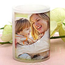 My Mom Personalized Candle: Send Personalised Gifts to Bokaro