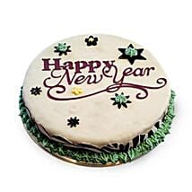 New Year Fondant Cake: New Year Gifts for Her