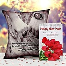 New Year Love Greeting: Greeting Cards