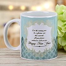 New Year Wishes Mug: New Year Gifts for Colleague