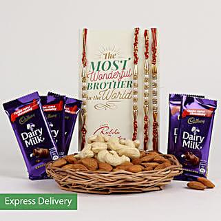 Nutty Rakhi Joy: Rakhi - Same Day Delivery