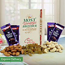 Nutty Sweetness: Rakhi - Same Day Delivery