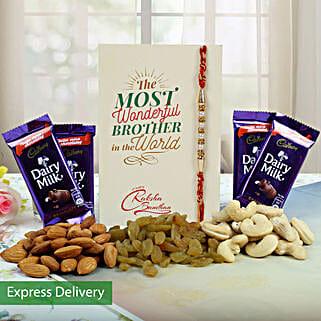 Nutty Sweetness: Rakhi With Chocolates Bestsellers