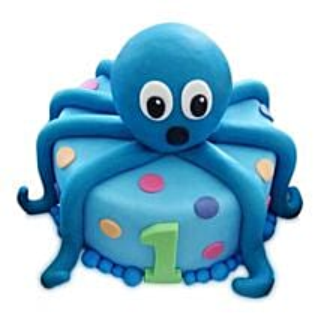 Octopus Cake: Red Velvet Cakes Delhi