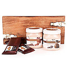 Pampering With Chocolate Spa Hamper: Send Gift Hampers to Ghaziabad