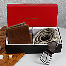 Paradigm Woven Belt N Wallet Combo: Wallets