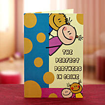 Partner in crime card: Buy Greeting Cards