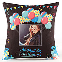 Personalised Birthday Balloon Cushion: Birthday All Gifts