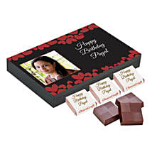 Personalised Birthday Decorated Chocolate Box: Personalised Chocolates to Lucknow