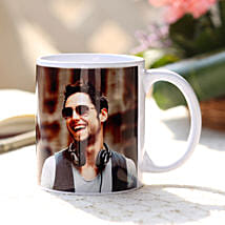 Personalised Love White Ceramic Mug: Birthday Gifts for Husband