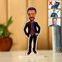 Personalised Man Caricature: Gift for Boyfriend