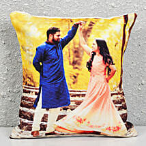 Personalised Photograph Cushion: Cake Delivery in Dalli Rajhara