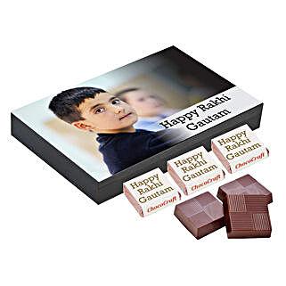 Personalised Rakhi Chocolate Gift Box: Personalised Chocolates Pune