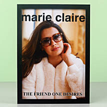 Personalised The Friend One Desires Frame: Personalised Photo Frames for Friendship Day