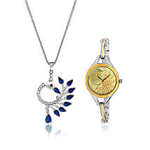 Personalised Watch & Beautiful Pendant: Personalised Accessories for Mothers Day