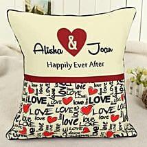 Personalized Celebrating Intimacy: Cushions
