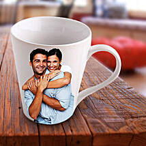 Personalized Ceramic Photo Mug: Personalised Gifts Rampur