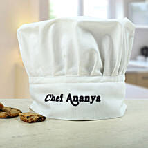 Personalized Chefs Hat: Send Personalised Gifts to Sikar