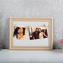 Personalized Cool Photo Frame: Karwa Chauth Photo Frames