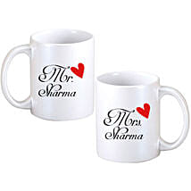 Personalized Couple Mugs: Personalised Gifts Gandhidham