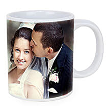 Personalized Couple Photo Mug: Send Wedding Personalised Gifts