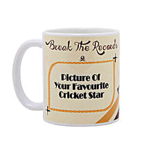 Personalized Cricket Love Mug: Send Personalised Mugs to Gurgaon
