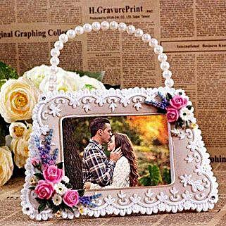 Personalized Handbag Shaped Photo Frame: Personalised Photo Frames Gifts
