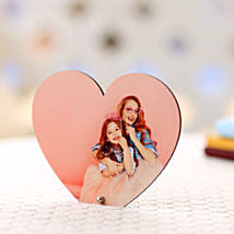 Personalized Heart Frame: Send Personalised Photo Frames for Her