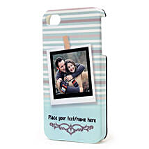 Personalized iPhone Photo Cover: Valentine Custom Gifts for Boyfriend