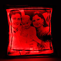 Personalized LED Cushion Red: Cushions for Fathers Day