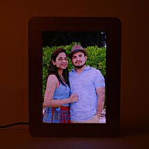 Personalized LED Wooden Frame: Personalised Photo Frames