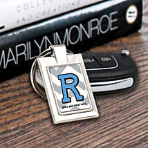Personalized Letter Key Chain: Personalised Gifts Barasat