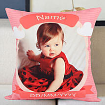 Personalized Little Angel Cushion: Send Personalised Gifts to Satara