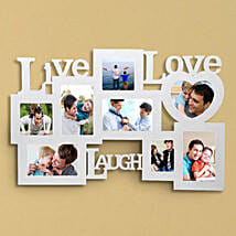 Personalized Live Love Laugh Frame: Send Personalised Gifts to Barasat