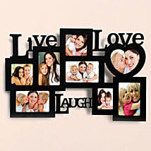 Personalized Live Love Laugh Frames: Friendship Day Photo Frames