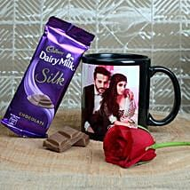 Personalized Love For Brew: Valentine Personalised Gifts for Husband