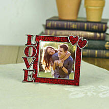 Personalized Love Hearts Photo Frame: Personalised Photo Frames Gifts
