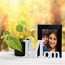 Personalized Mom Frame N Plant: Send Personalised Gifts to Muktsar