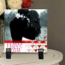 Personalized Photo Tile: Gift Delivery in Burhanpur