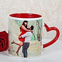 Personalized Red Ceramic Mug: Send Miss You Gifts