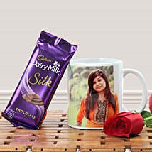 Personalized Relaxing With Coffee: Valentine Personalised Mugs