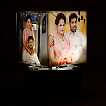 Personalized Rotating Lamp Mini: Valentine Gifts Tirupur