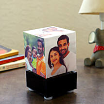Personalized Rotating Lamp Mini: Send Personalized Gifts