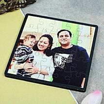 Personalized Square Puzzle: Send Personalised Gifts to Rampur