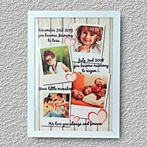 Personalized Treasured Memoray: Personalised Photo Frames for Mothers Day