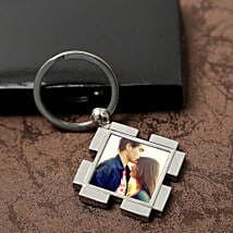 Personalized Valentine Keyring: Send Personalised Gifts to Sikar