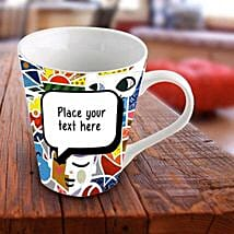 Personalized Vibrant Mug: Send Personalised Gifts to Muktsar