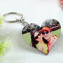 Personalized Wooden Key Chain: Valentine Gifts Tirupur